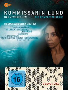 """DVD-Komplettbox """"Kommissarin Lund - Das Verbrechen I - III, Die Komplette Serie"""""""