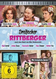 "DVD-Veröffentlichung der kompletten Serie ""Dreifacher Rittberger"" am 17.05.2013"