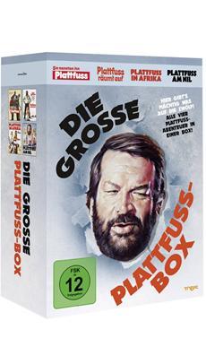 DVD-VÖ   DIE GROSSE PLATTFUSS BOX ab 23. November 2012 auf DVD