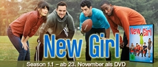 DVD-VÖ   New Girl - Season 1.1: Alle lieben Jess!