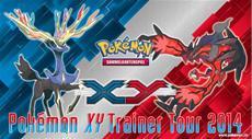 Entdecke die Welt der Pokémon bei der XY Trainer Tour