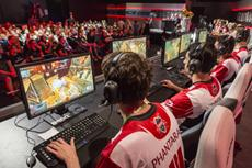 Entertainment-Trend E-Sport entwickelt sich zum Breitensport mit Millionen von Zuschauern