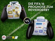 FIFA 16 Bundesliga-Prognose mit dem Spitzenspiel des 12. Spieltages: Borussia Dortmund - Schalke 04