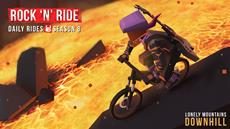 Get ready to rock with Lonely Mountains: Downhill Daily Rides Season 8: Rock 'N' Ride!