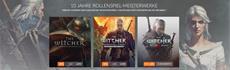 GOG.com feiert den 10. Geburtstag von The Witcher mit Riesenrabatten auf Rollenspiele