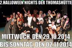 Halloween Nights 2014 - Thomashütte Erlebnisgasthaus