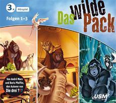 Gewinnspiel | Das wilde Pack Hörbox - Folge 01-03