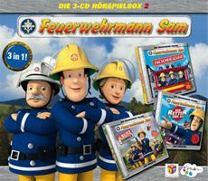 HSP-VÖ | Feuerwehrmann Sam - Hörspielbox 2