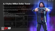 In WWE 2K19 hält der neue Türme-Modus Einzug & Verbindung zur Million Dollar Challenge