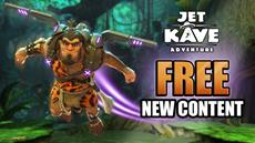 Jet Kave Adventure is back with a FREE update landing now on Nintendo Switch
