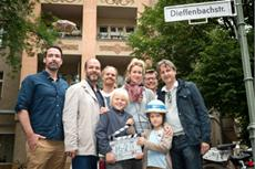 Drehstart zum Kinofilm Rico, Oskar und die Tieferschatten in Berlin