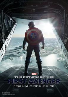 Cap ist zurück! THE RETURN OF THE FIRST AVENGER erobert die Spitze der Kinocharts
