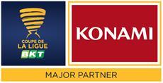KONAMI als offizieller Major Partner des Coupe de la Ligue BKT vorgestellt