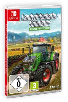 Landwirtschafts-Simulator - Nintendo Switch<sup>&trade;</sup> Edition - ab morgen im Handel
