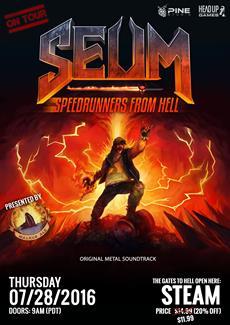 """Lauf wie der Teufel und hol dir dein Bier zurück - in """"SEUM: Speedrunners From Hell"""""""