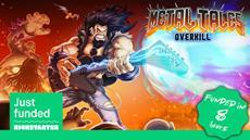 Metalhead Gaming News: Metal Tales: Overkill Kickstarter Goes Live