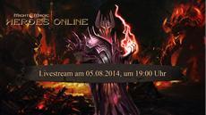 Might &amp; Magic<sup>&reg;</sup> Heroes<sup>&reg;</sup> Online - Twitch Live Stream am 5. August um 19 Uhr