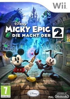 Disney Interactive veröffentlicht Disney Micky Epic - Die Macht der 2 und Disney Micky Epic - Macht der Fantasie