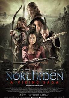 NORTHMEN in Action: Furiose Schwertkämpfe und halsbrecherische Klettereinlagen in NORTHMEN - A VIKING SAGA