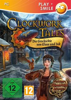 Packendes Steampunk-Abenteuer in den Bergen - play+smile kündigt Clockwork Tales: Die Geschichte von Glass und Ink (Collector's Edition) an
