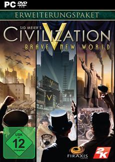 2K gibt bekannt, dass die Erweiterung Sid Meier's Civilization V: Brave New World ab jetzt im Handel ist