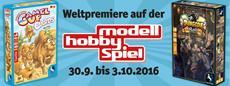Pegasus Spiele Neuheiten auf der Modell-Hobby-Spiel in Leipzig