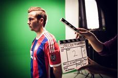 PES 2015 Videoshooting Making Of mit Mario Götze