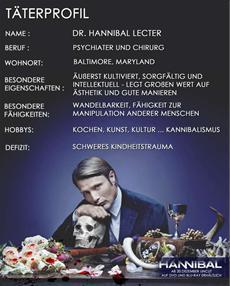 Profiling Hannibal Lecter - Das Täterprofil des berühmtesten Kannibalen der Filmgeschichte - HANNIBAL (HE-Release 20.12.2013)