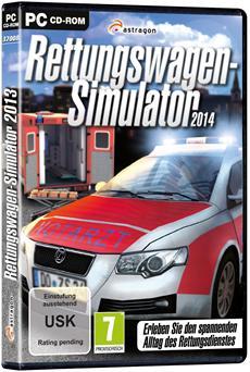 Rettungswagen-Simulator 2014 - Freigabe zur Blaulichtfahrt!