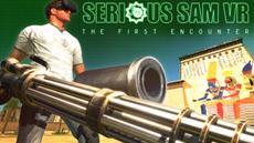 Serious Sam VR: The First Encounter - ein wilder Ritt durch virtuelle Welten - jetzt komplett in VR und mit rasantem Koop-Modus