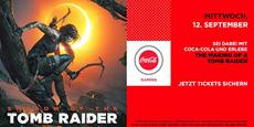 SHADOW OF THE TOMB RAIDER: Square Enix und Coca-Cola feiern den Release des Spiels in Deutschen Kinos