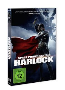 SPACE PIRATE CAPTAIN HARLOCK // Ab 22. August 2014 als DVD, Blu-ray, Limited Collector's Edition und VoD!