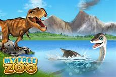 T-Rex macht My Free Zoo unsicher