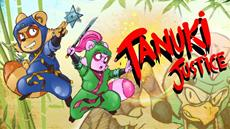 Tanuki Justice is launching on the Nintendo Switch on December 10th!