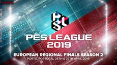 Teilnehmerfeld der PES LEAGUE 2019 EUROPEAN REGIONAL FINALS fast komplett - weiterer deutscher Spieler wird am 30. März ermittelt