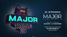 The tickets for PGL MAJOR STOCKHOLM 2021 will go on sale on September 22