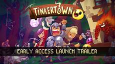 Tinkertown, Headup's Cheerful 16-bit RPG Sandbox Adventure Game, Arrives on Steam Early Access Today