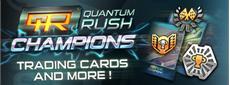 Trading Cards & Steam Achievements bei Quantum Rush: Champions