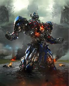 TRANSFORMERS: ÄRA DES UNTERGANGS - Explosives Bildmaterial von Optimus Prime und Bumblebee