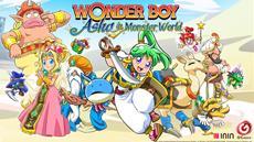 Wonder Boy: Asha in Monster World Arrives on PS4 & Nintendo Switch Tomorrow!